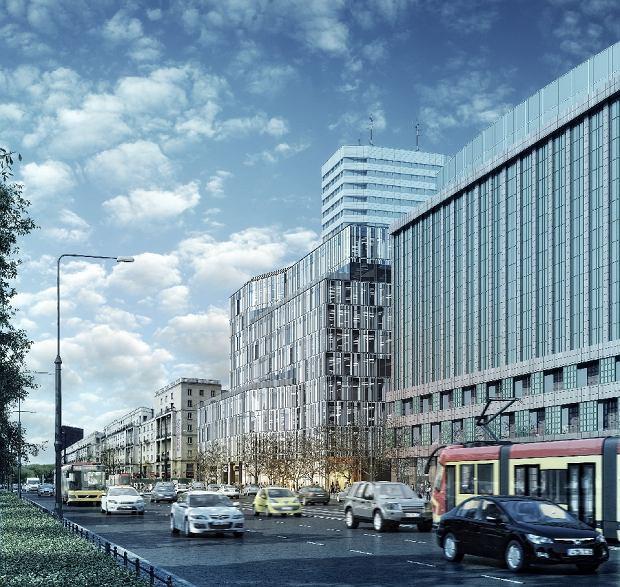 Nowy Sezam w Warszawie, materiały inwestora