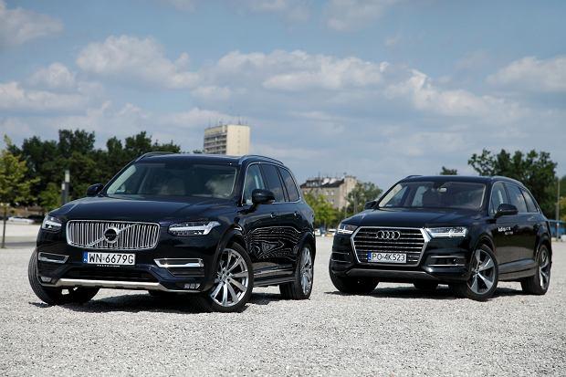 Audi Q7 3.0 TDI vs Volvo XC90 D5 | Konfrontacja | Dwie kartki papieru