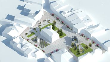 Projekt rynku w Jarosławiu autorstwa Aliny Dziaduś nagrodzony w konkursie Towarzystwa Urbanistów Polskich
