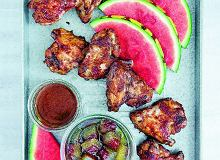 Pieczone skrzyde�ka w�zalewie arbuzowej - ugotuj