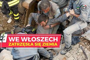 Trzęsienie ziemi we Włoszech. Liczba ofiar śmiertelnych ciągle rośnie
