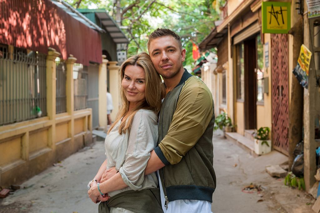 Hanna Lis i Łukasz Jemioł (fot. materiały prasowe TVN)