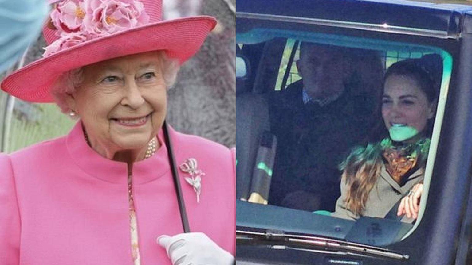 """Royal Kia Tucson >> Królowa Elżbieta została... szoferem księżnej Kate. """"Ochroniarzy odesłała na tylne siedzenie ..."""