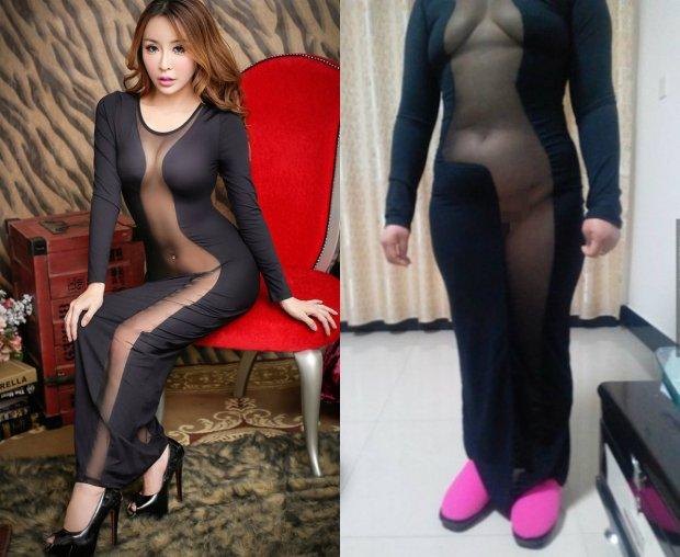 Oczekiwania kontra rzeczywisto�� - oto, jak sukienka zam�wiona przez Internet prezentuje si� na normalnej kobiecie