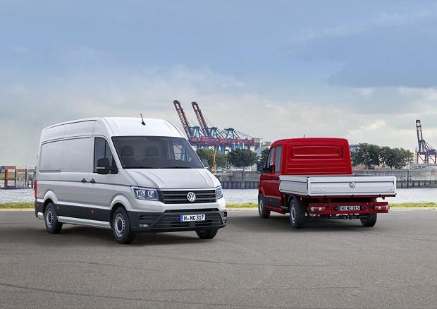 Produkowany w Polsce VW Crafter z tytułem Van of The Year 2017