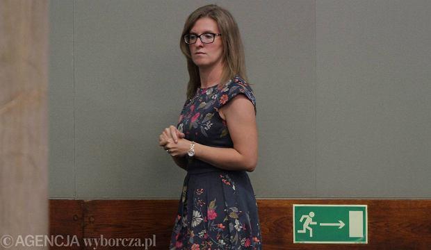 Nowa premier�wna - Katarzyna Kopacz podczas expose mamy w Sejmie
