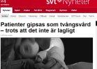 Szwedzka telewizja: Chore psychicznie kobiety leczone s� razem z mordercami i gwa�cicielami