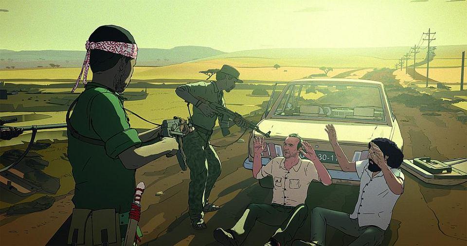 Kadr z filmu 'Jeszcze dzień życia'