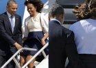 O w�os od mi�dzynarodowej kl�ski. Michelle Obama kontra wiatr: 1-0. A wszystko dzi�ki...