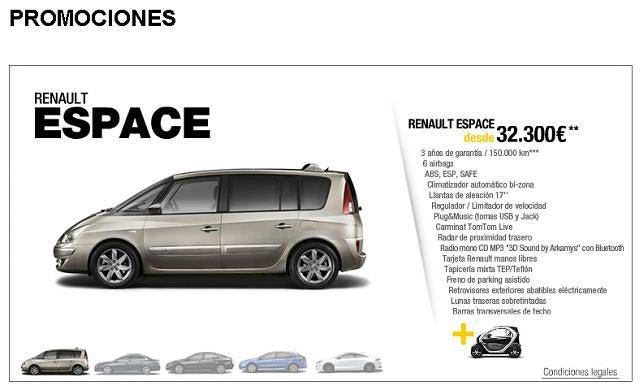 Promocja w hiszpańskich salonach Renault
