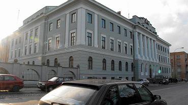 Komenda Wojewódzka Policji w Kielcach, do 1990 roku mieściła się tu komenda MO i WUSW