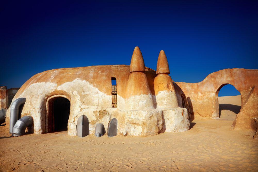 Dekoracja do Gwiezdnych Wojen, Sahara, Tunezja / fot. Shutterstock