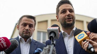Wybory samorządowe 2018 w Warszawie. Dziennikarz przypomniał Piotrowi Guziałowi jego stare wpisy o Patryku Jakim