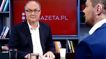 Włodzimierz Czarzasty gościem porannej rozmowy Gazeta.pl