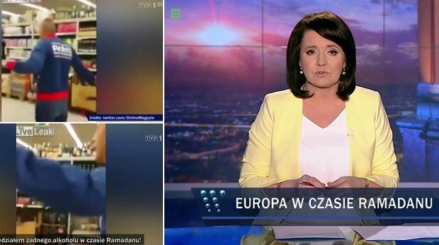 """""""Wiadomości"""" TVP pokazały skecz jako przykład """"radykalnego protestu wyznawcy islamu"""". Partia Razem składa skargę"""