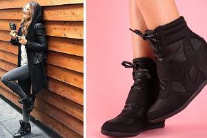 Sneakersy na koturnie - ulubione buty Ani Lewandowskiej