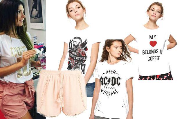 modne koszulki w niskich cenach