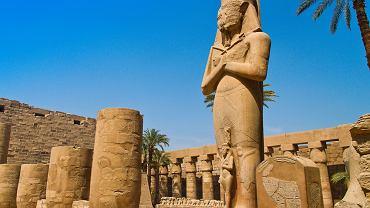 Egipt starożytny - Karnak, Egipt