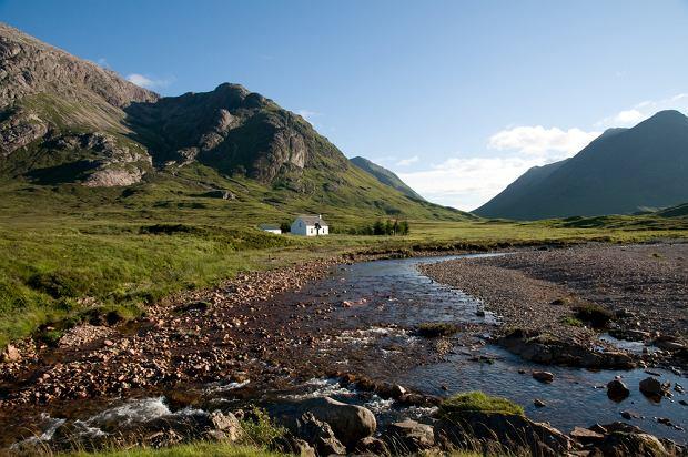 Szkocja. Dolina Glencoe