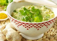 Purée azjatyckie z curry i imbirem - ugotuj