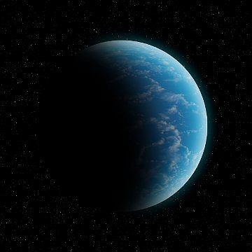 Egzoplaneta w ca�o�ci pokryta oceanem