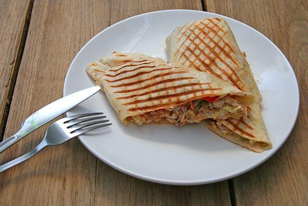Tortille z kurczaka