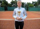 Katarzyna Chmielewska najlepsz� tenisistk� Warsaw Cup