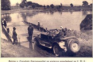 Pierwszy polski samoch�d - 1927