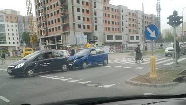 Wypadek na rogu Sobieskiego i Bonifacego
