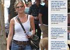Jennifer Aniston kusi spaceruj�c po Manhattanie