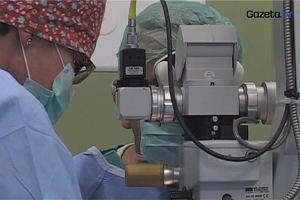 Operacja usunięcia zaćmy - zabieg trwa kilkanaście minut