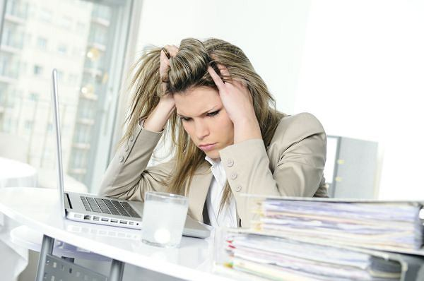 4 najcz�stsze powody stresu