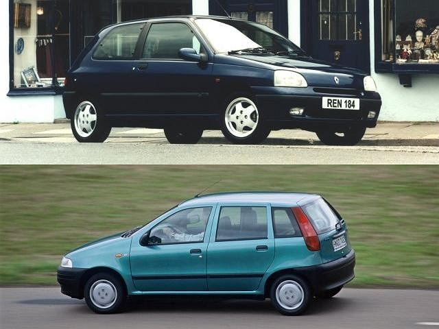 Fiat Punto vs Renault Clio