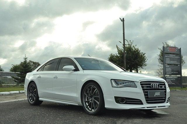 Audi A8 4.2 TDI z pakietem ABT