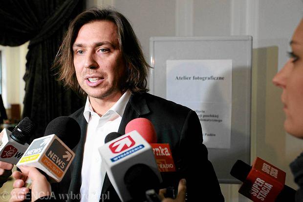 Tomasz Kaczmarek, emerytowany agent CBA znany jako Agent Tomek w Sejmie