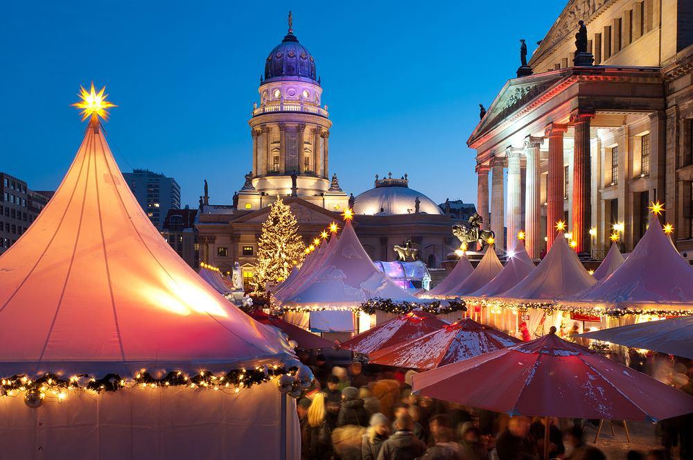 Jarmark �wi�teczny - Berlin, Niemcy - kulturalny