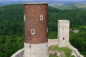 Polska. Wycieczka w Góry Świętokrzyskie