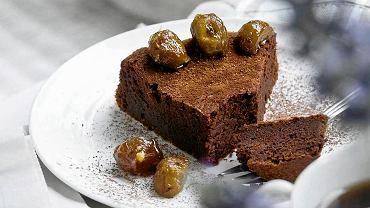 Ciasto czekoladowo-kasztanowe
