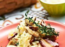 Risotto z grzybów i kaczki - ugotuj