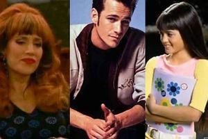 Danica McKellar, Katey Sagal, Luke Perry.
