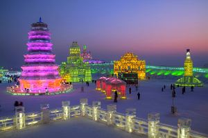 4 festiwale lodu na �wiecie (Chiny, Kanada, Japonia, Norwegia)