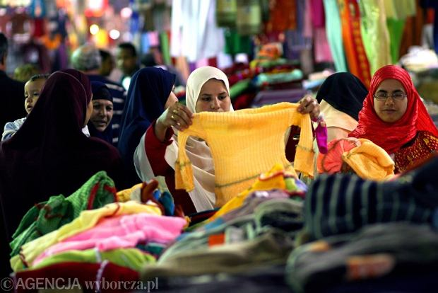 Egipt, Kair, Złoty Bazar