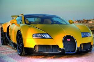 Bugatii Veyron dla szejka
