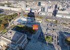 McDonald's stanie na placu Defilad. Tymczasowo