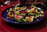 Sa�ata zielona z owocami
