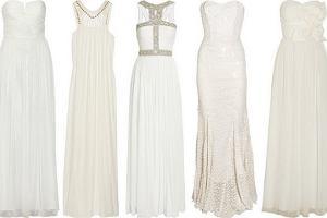 Suknia �lubna od projektanta do 2000 z�