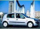RENAULT Clio II 01-04, rok produkcji 2001, coupe, widok przedni prawy, samoch�d 3-drzwiowy, kolor niebieski jasny