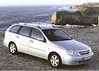 CHEVROLET Lacetti Kombi 04-11, rok produkcji 2005, kombi, widok przedni prawy, samoch�d 5-drzwiowy, kolor silver grey