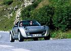SMART roadster - coupe 03-05, rok produkcji 2004, coupe, widok przedni prawy, samoch�d 2-drzwiowy, kolor silver grey