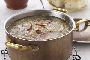 Domowe menu z solidn� zup� i pysznym sernikiem
